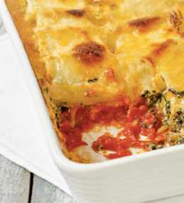 Carroll's Baked Cannelloni Smoked Ham and Parmesan