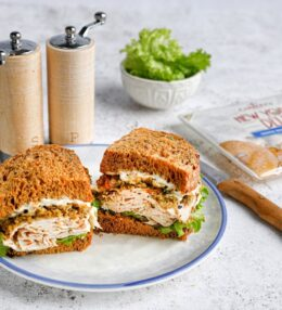 Roast Chicken Dinner Sandwich