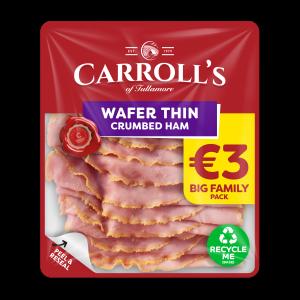 4694 Carrolls Value Wafer Crumbed Ham 3D