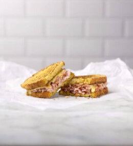 Grilled Cheese & Ham Sandwich