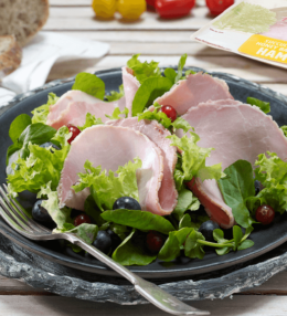 Honey Roast Ham Salad