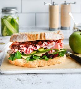 Ploughman's Honey Roast Sandwich